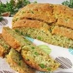Chleb na sodzie z zielony...