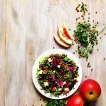 Salatka z fasola mung i c...