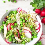 Wiosenna salatka z wedzon...