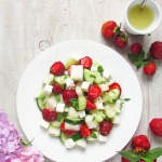 Salatka melonowo - truska...