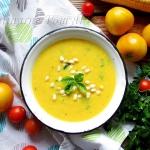 Zupa krem z kukurydzy i...