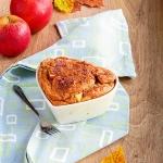 Owsiane ciasto z jablkami...