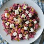 Zdrowa salatka z buraczka...