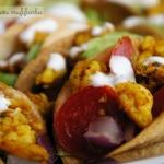 Mini tacos z kurczakiem