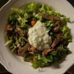 Salatka z grillowanym ant...