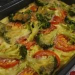 Zapiekane warzywa z makar...
