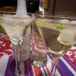 Limonka w złocie - drink