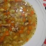Zupa fasolowa z nutą...