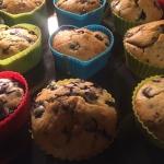 Muffiny z borówkami i...
