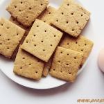 Krakersy z mąką...