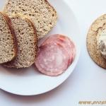 Chleb z mąką z cibory...