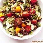 Sorgo z warzywami