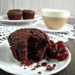 Muffinki bardzo czekolado...