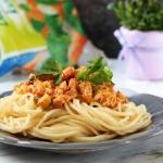 Spaghetti Z Sosem Pomidor...