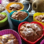 Muffinki gruszkowe; muffi...