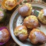 Muffinki z bialym serem; ...
