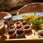 Piernikowe muffinki z wrz...