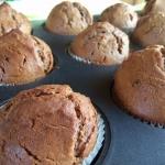 Muffinki brownie z niespo...