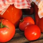 Domowy sok pomidorowy;...