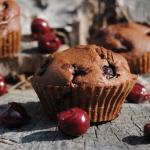 Czekoladowe muffinki z wi...