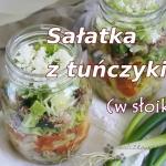 Salatka z tunczykiem i ma...