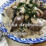 Watrobka drobiowa z piecz...