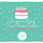 2 lata bloga TwoBrokeSist...