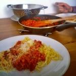 Spaghetti soczewicowe