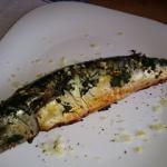 makrela pieczona z maslem...