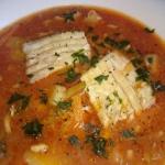 pikantna zupa z leszcza
