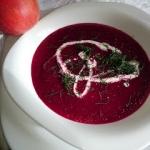 zupa z pieczonych burakow...