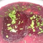 lekka zupa z pieczonych...