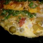 omlet z papryką,...