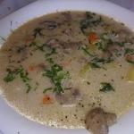 zupa grzybowa z pieczarek...