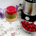 Kolorowy koktajl owowcowy