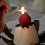 Płonący deser...