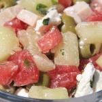 Salatka z melona, arbuza,...