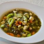 wegańska zupa szczwiowa...