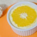 pomarańczowy serniczek