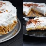 Zdrowe ciasto banoffee...
