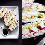 Sushi kanapka -...