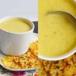 Ogórkowa zupa-krem z...