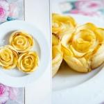 Jablkowe rozyczki z ciast...