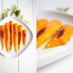 Mlode marchewki w imbirze...