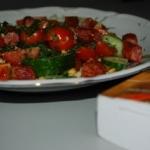 Salatka z ciecierzyca, ka...
