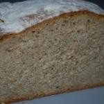 Chleb z otrębami na...