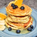 Puszyste i proste pancake...