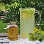Domowa Lemoniada z miodem