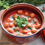 Pulpety w sosie pomidorow...