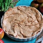 Tarta z jablkami pod beza...